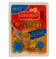 Capeletti De Queijo Massa Leve