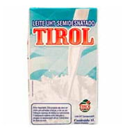 Leite Longa Vida Tirol Semi Desnatado Caixa 1l