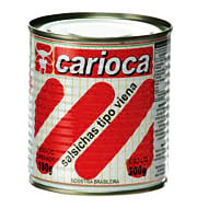 Salsicha Carioca Lata Tipo Viena 180g