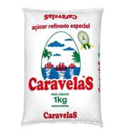 Açúcar Caravelas Refinado Pacote 1kg