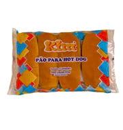 Pão Kim Hot Dog 500g (10 Unidades)