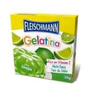 Gelatina Limao Fleischmann 30g