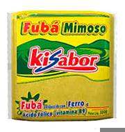Fuba Mimoso Kisabor 500g Pacote