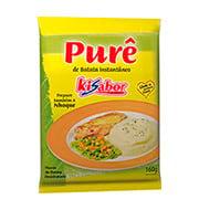 Pure De Batata IntantÂneo Kisabor 160g