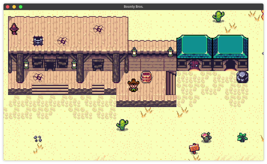 bounty bros game screenshot