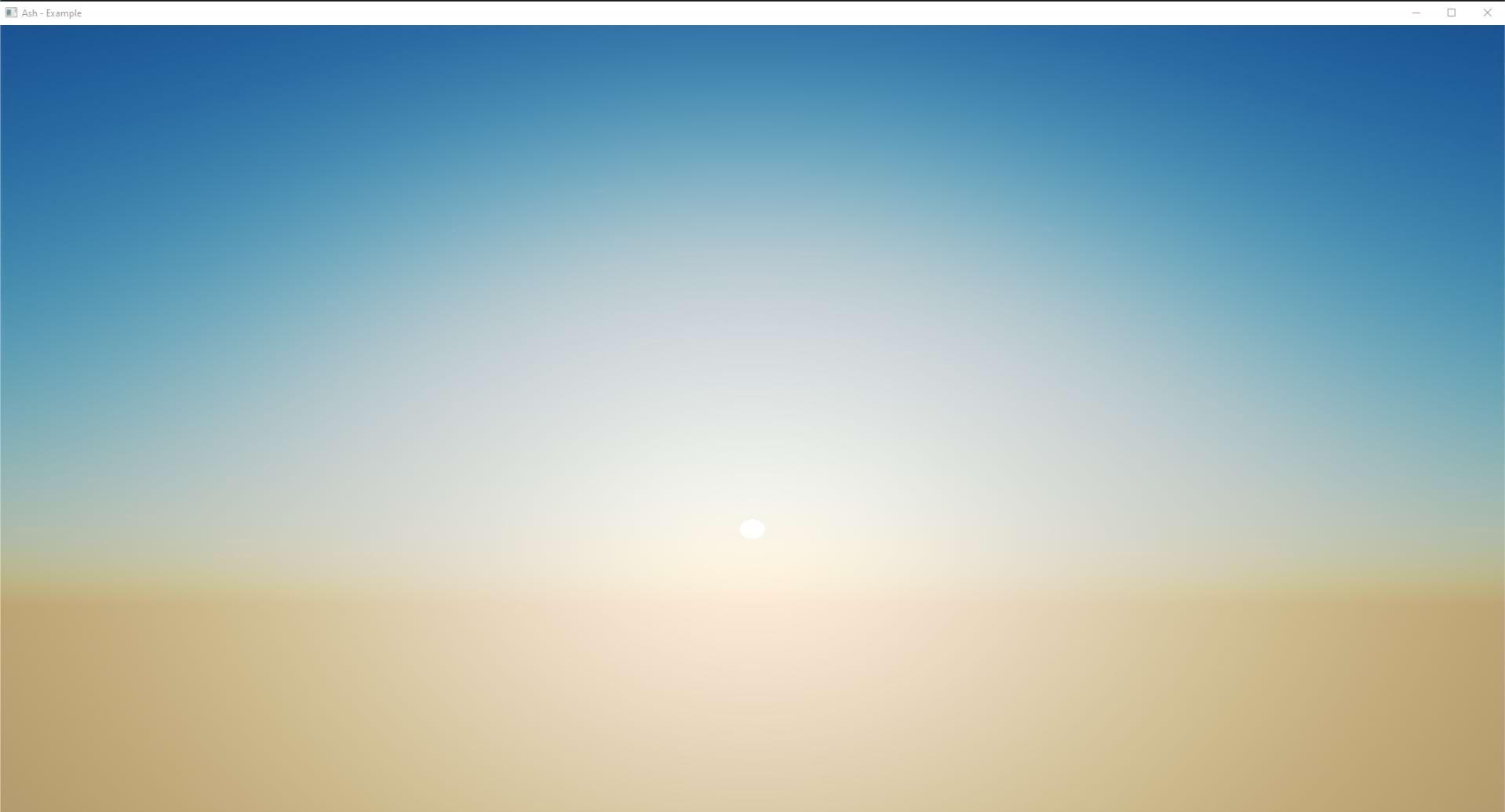 Sky shader