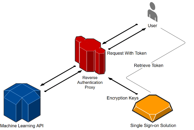 The reverse authentication proxy