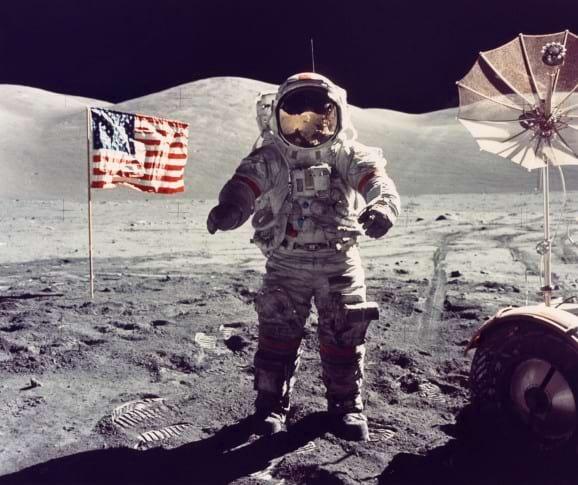 Eugene Cernan, Apollo 17 EVA