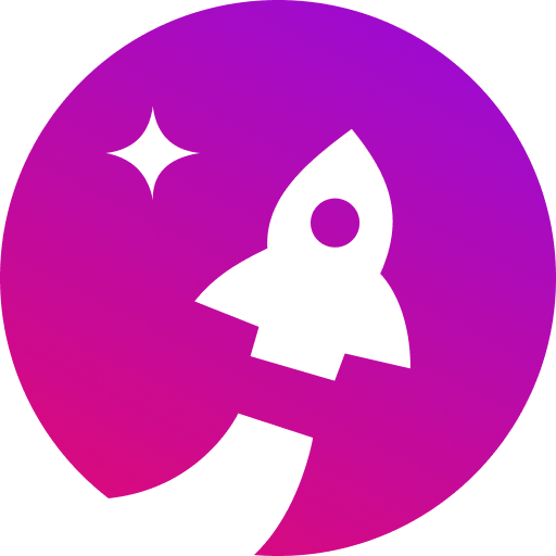 Starship rocket icon