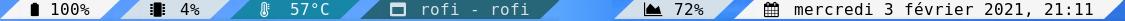 UmberBar Screenshot