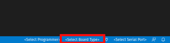 Open board dialog in VS Code