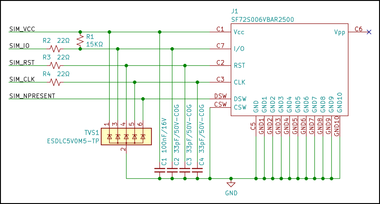 External nano-SIM slot