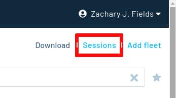 Sessions option