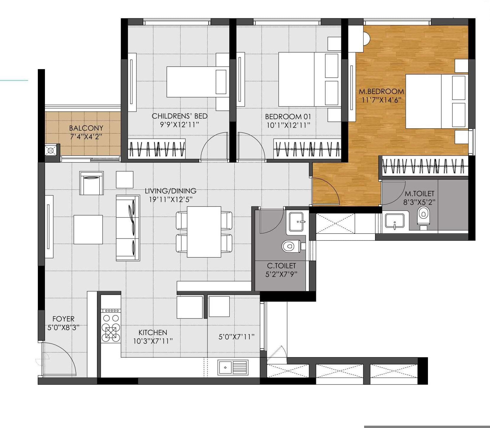 DNR-Casablanca-3bhk-1473-sqft-floorplan