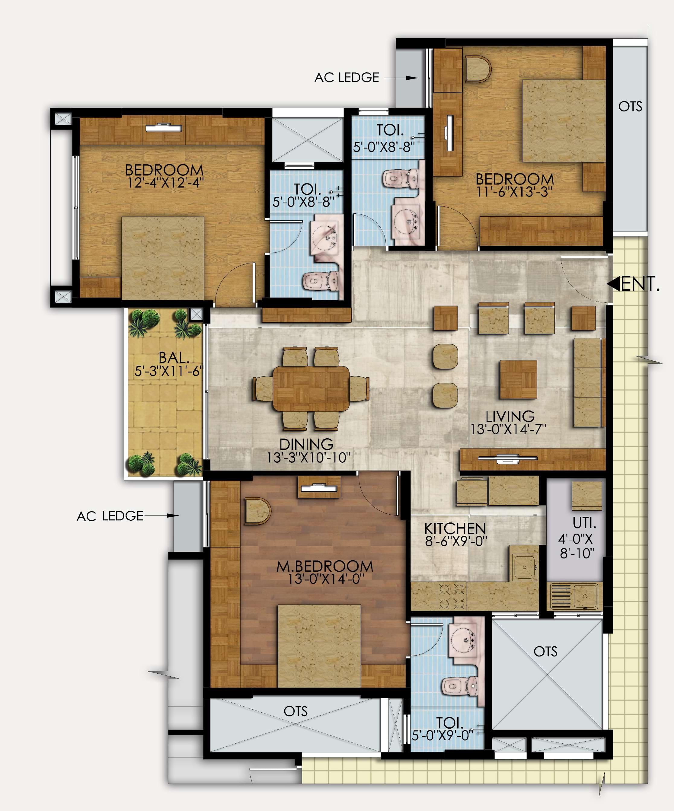 Mahaveer-Ranches-3bhk-1541-sqft-floorplan