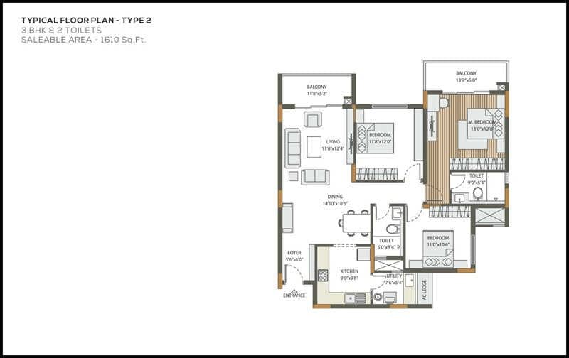 DNR-Atmosphere-3bhk-1610-sqft-floorplan