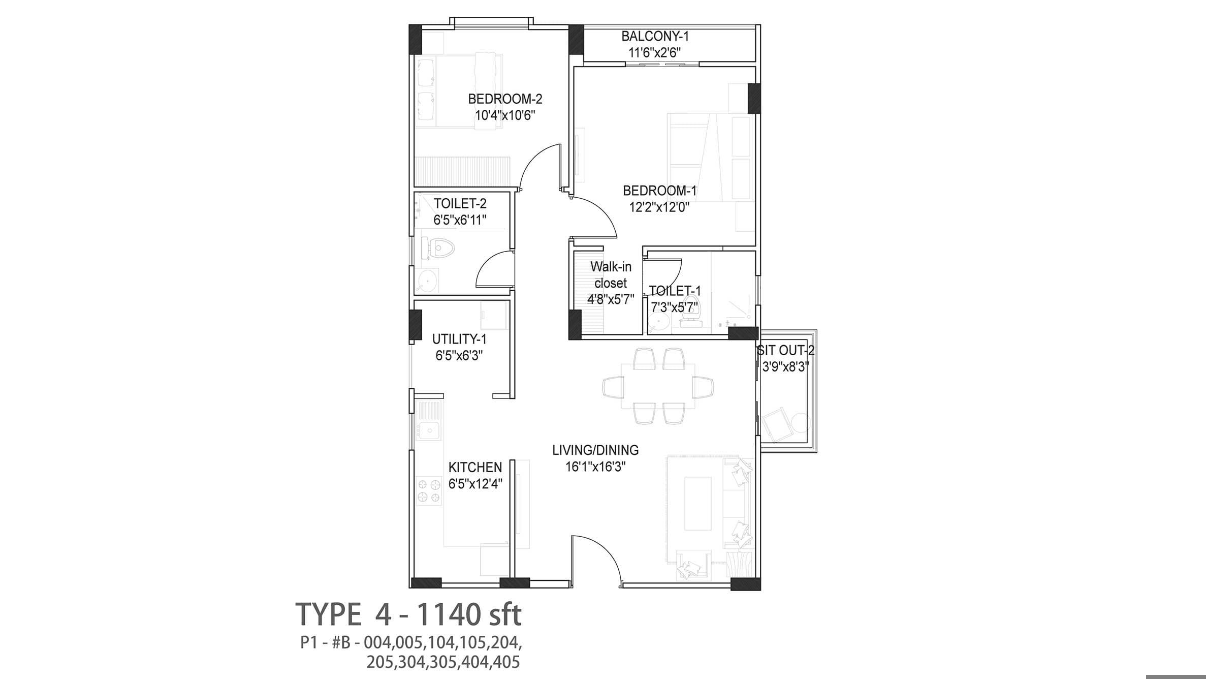 NR-Windgates-2BHK-1140-sqft-floor-planplan