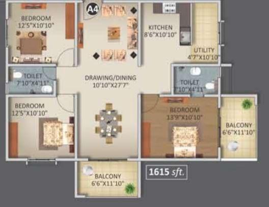 ELV-Kingsland-FloorPlan-3bhk-1615Sqft
