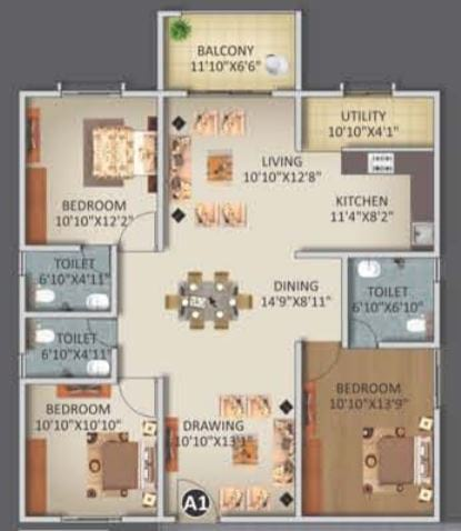 ELV-Kingsland-FloorPlan-3bhk-1670Sqft
