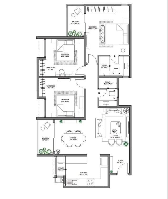 Asstez-63-Degree-East-3-BHK-1370-sqft-floorplan