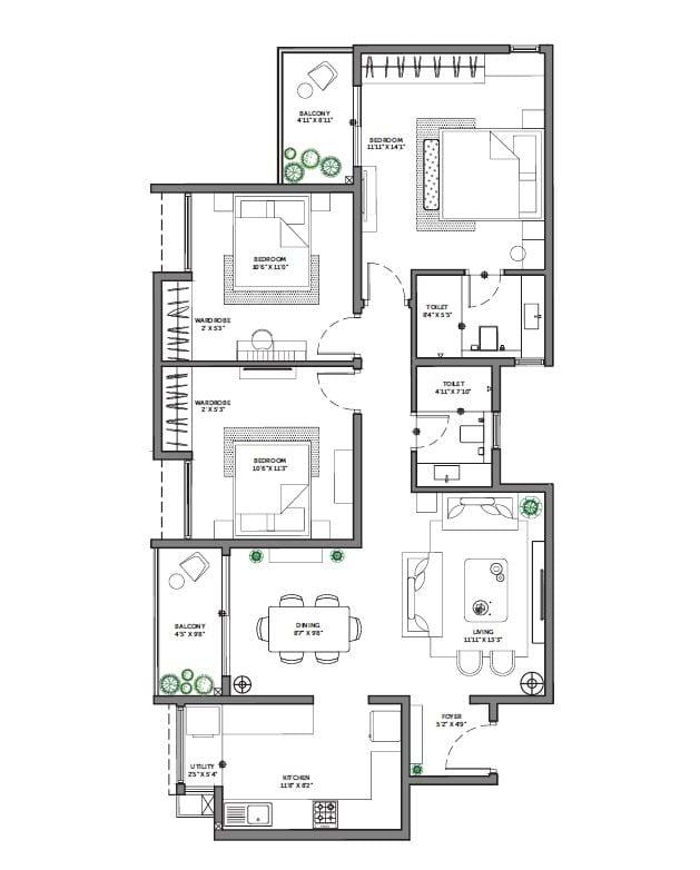 Asstez-63-Degree-East-3-BHK-1396-sqft-floorplan