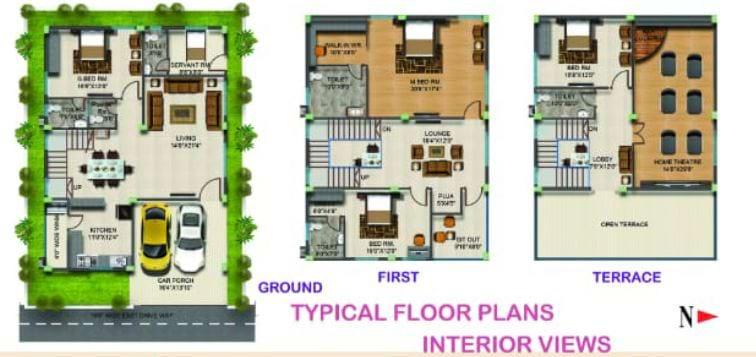 TMR-Orchids-floorplan-4bhk-3730