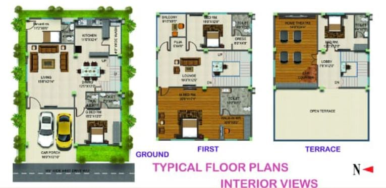 TMR-Orchids-floorplan-4bhk-3750