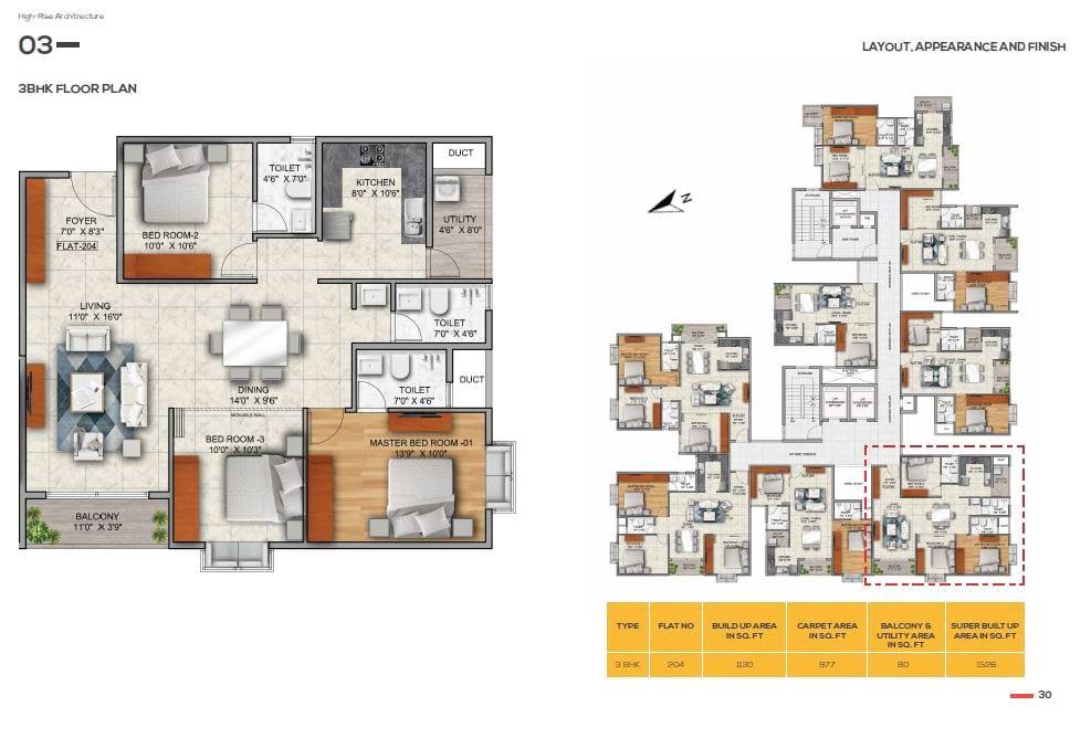 Mana Capitol 3 BHK Apartments in Sarjapur Road