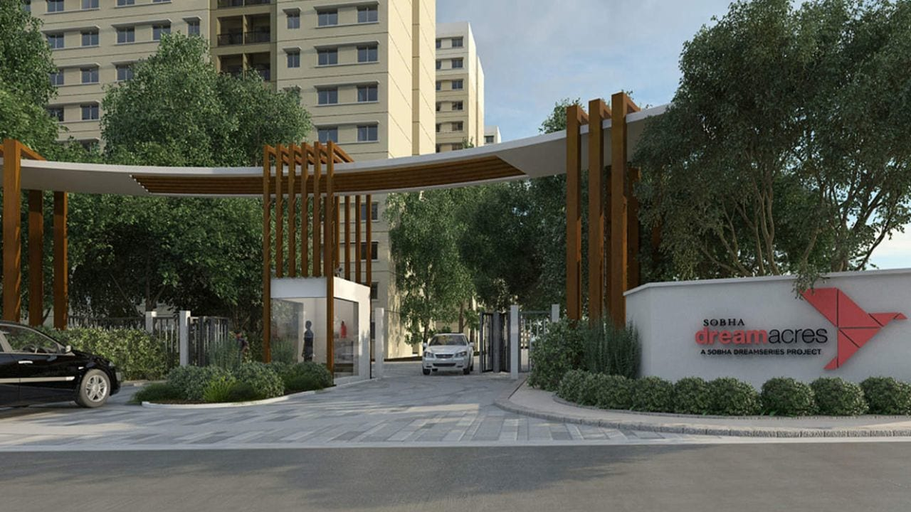 Sobha-Dream-Acres-Entrance