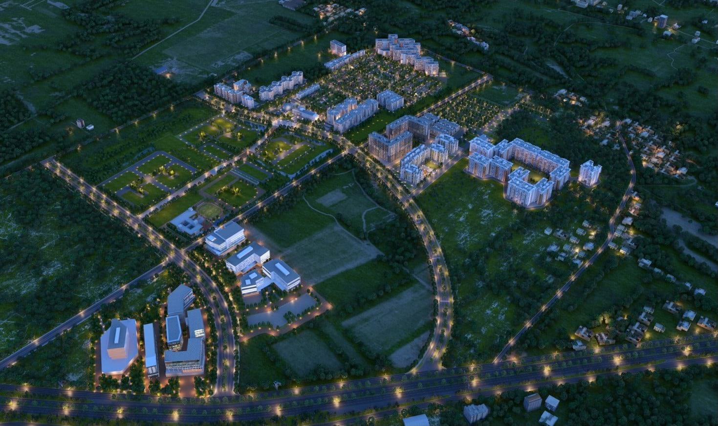 Ozone-Urbana-Prime-Layout-Plan