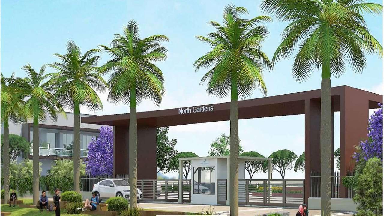 North Gardens plots