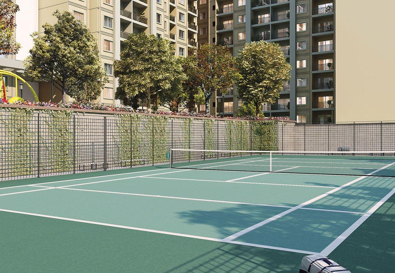 Brigade North Ridge Tennis Court