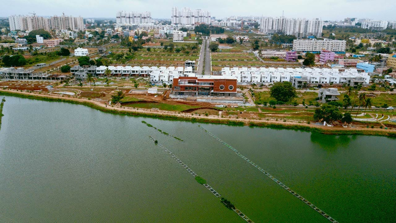 The Lake View Address Plots - Plots in Electronic City