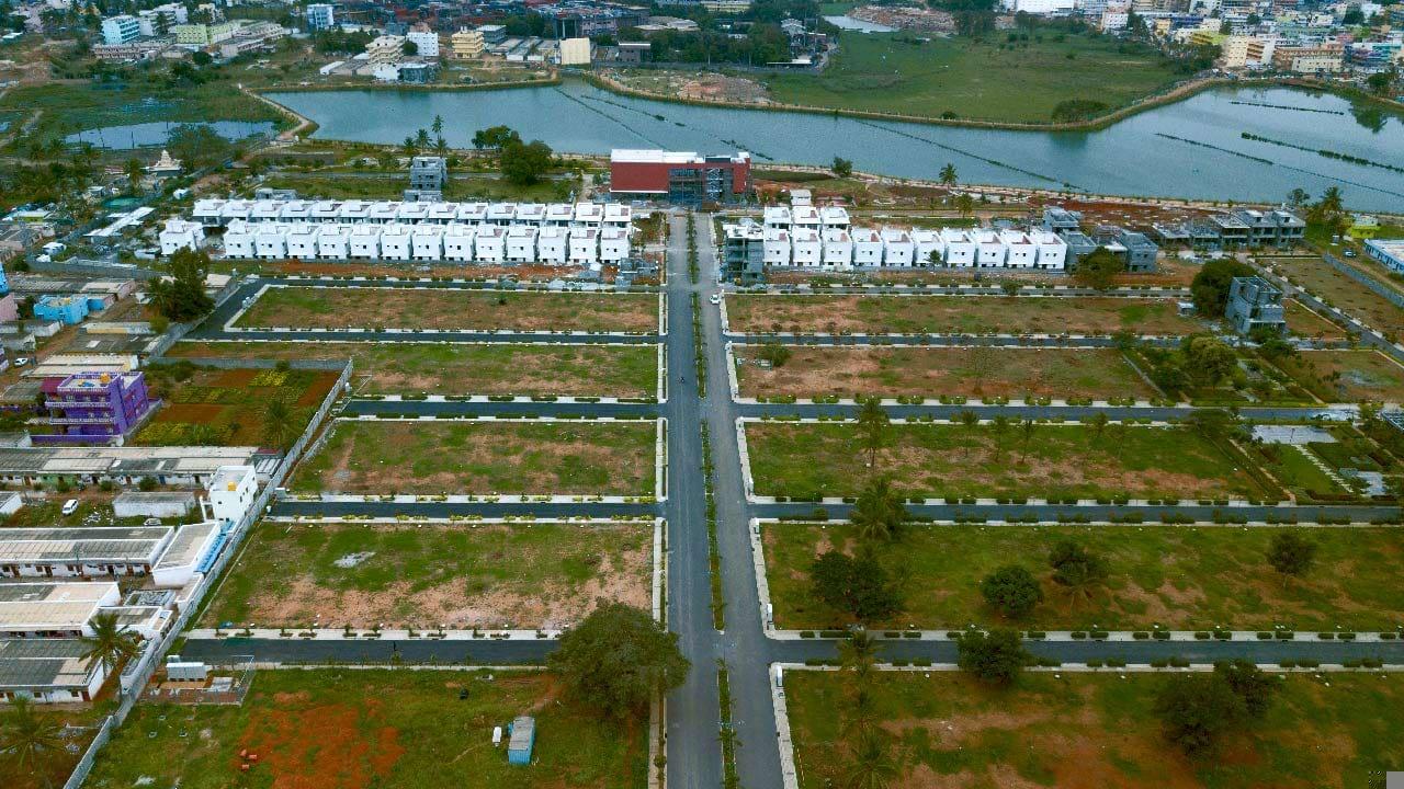 The Lake View Address Plots - Villas Plots in South Bangalore