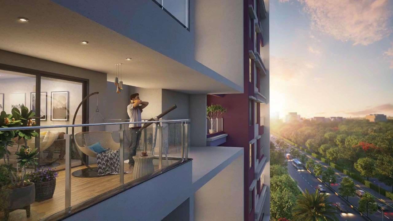 Sumadhura Sushantham Balcony Apartments in North Bangalore