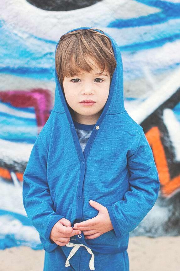 Baby L/S Jacket w/Hoodie - City