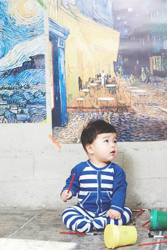 Baby Footie Romper - Arts