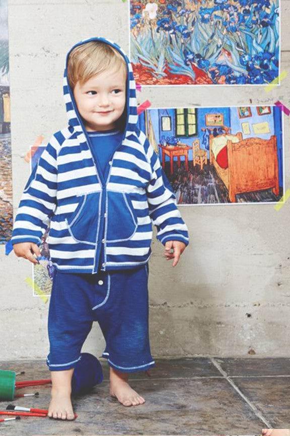 Baby Hoodie Jacket - Arts