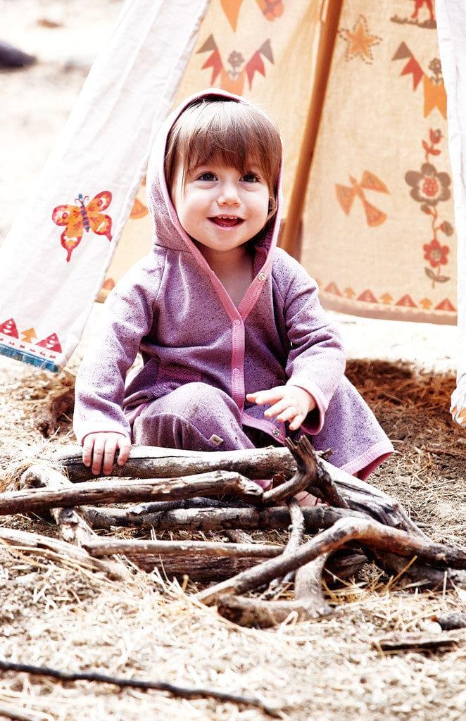 Toddler L/S Jacket w/Hoodie - Desert