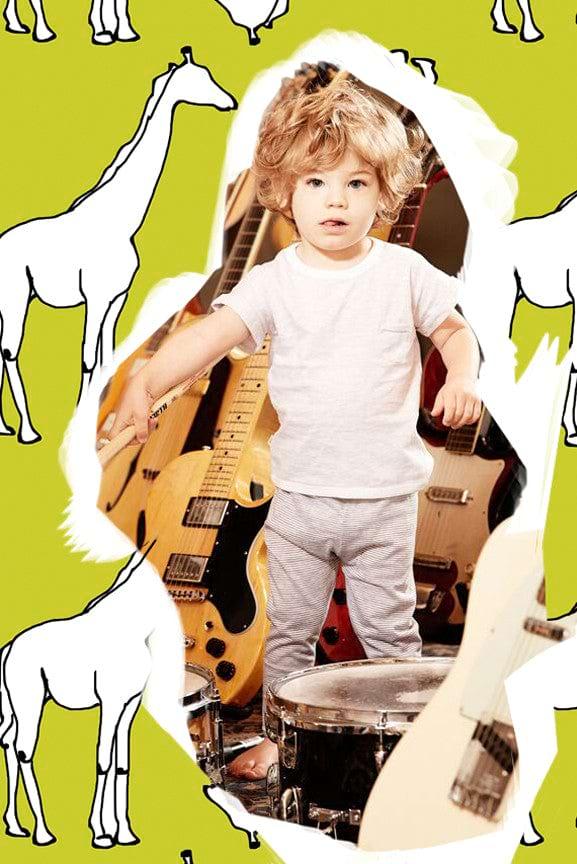 Baby L/S Henley Union Suit - Desert