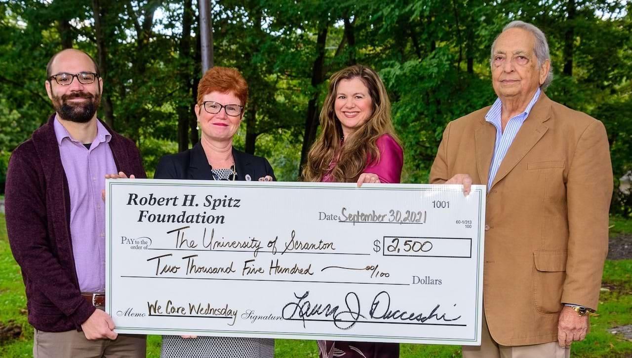 Spitz Foundation Grant Supports University Program