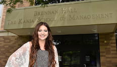 Student Awarded National Accounting Scholarship banner image
