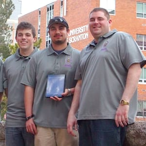 Students Place Third at National Engineering Competition