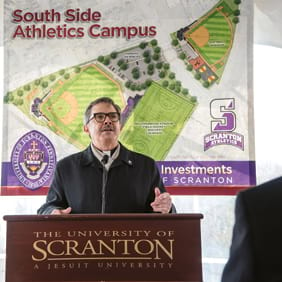 Athletics Campus will Bear Former President's Name