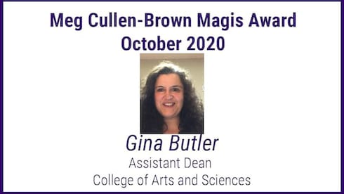 Meg Cullen Brown October Award Winner banner image