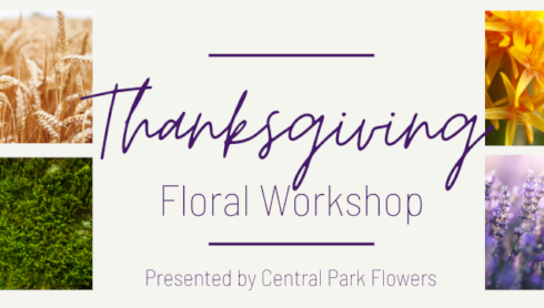 University To Host Thanksgiving Floral Workshop banner image