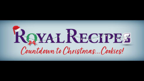 Royals Submit Recipes To Virtual Christmas Cookie Swap banner image