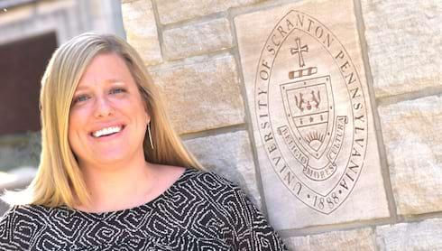 Elizabeth Geeza Joins University of Scranton SBDC banner image