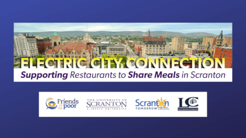 Electric City Connection Partners Welcome Rally for Restaurants banner image