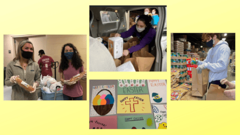 University Students Work to Provide Meals to Community Members in Need banner image
